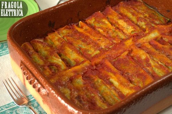 Canneloni di ricotta e spinaci