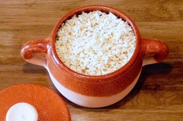 La cottura per assorbimento dei cereali