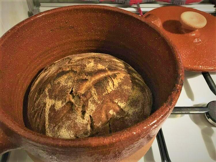 Pane in pentola di terracotta Bionaturalta